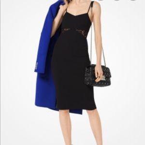 MICHAEL Michael Kors Lace Panel Strappy Dress